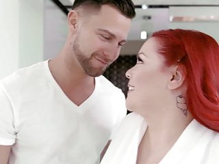 Pillow fucking videos - Fat huge redhead used as fuck pillow