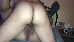 Fucking cuckold couple lady bare