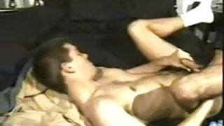 Hot Daddy Cop fuck her boy