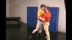 spandex Spandex Studs Frot in Lockroom