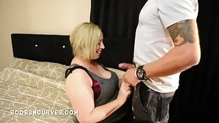 Busty British wife fucks the plumber