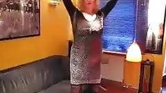 German wife Eva strips