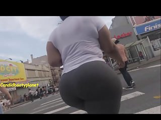Dominican bukkake video Humongous candid dominican phat booty