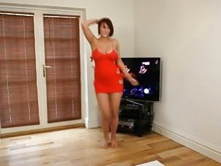 Nude execise Dirty dancing: nude busty brit strip