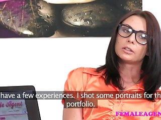 Perfect orgasm Femaleagent perfect lesbian casting with masturbation
