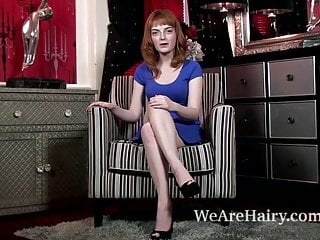Naked redheads comments Lola gatsby enjoys her private time naked on chair