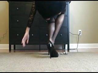 Female bondage on tv Self bondage tv