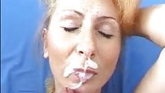 Mature thick facial