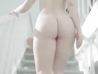 Teen dick lovers - Sexy girl riding her lover dick on stairs