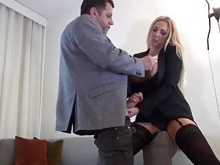 Ass fucked in she want Sexy blonde dutch milf with big boobs get what she want