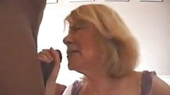Anal french granny