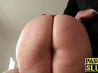 Redhead in maledom Cute uk milf roughly ass fucked in maledom paradise