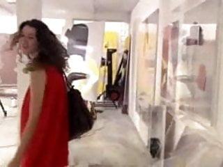 Tv upskirt clips Uk tv clip 5