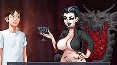 Summertime Saga 0.20.6 - Halloween sex on the graveyard