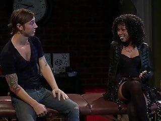 Black woman in interracial relationship Sexy black woman fucked