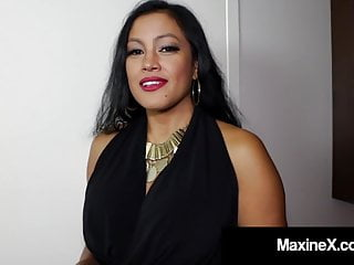 Maxine porn Cambodian cougar maxine-x is ass fucked by big black cock