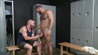Extra Big Dicks Ricky Larkin Is Ready For Anal After Workout