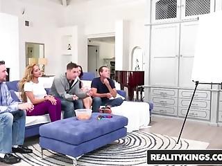 Brad kroenig naked - Realitykings - sneaky sex - brad knight chloe amour monique