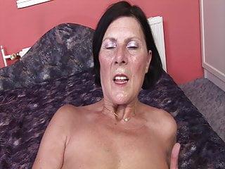Man toys masturbation video - 60 grandma enjoys dildo and young mans cock