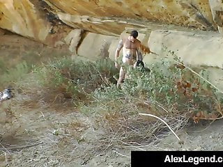 Euro hiker bottom - Horny hiker lea lexis gets banged by alex legend outdoors