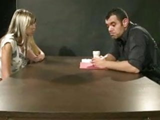 Interrogated tgp Hot teen threesome in the interrogation room