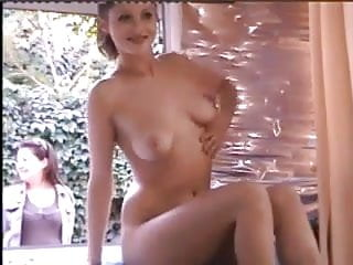 Naked girl vdo Naked girl in window is joined by even hotter girl who flash