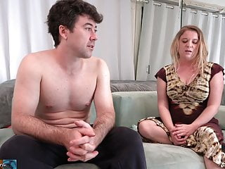 Penis stuck in bench Stepmom is stuck in the couch