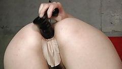 Japanese girl anal masturbation 32