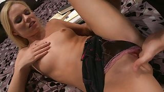 Yasmine Gold gets a rough bed sex in a reality shoot