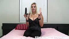 Both of these big cocks are for you