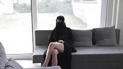Burka Muslima zum Sex verfuehrt