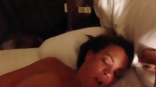 White wife black cock I'm gonna cum on your dick