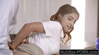 Nubiles-Porn Kristen Scott Punished By Step Dad