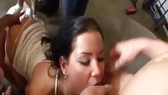Innocent Tanner Mayes swallow massive cumshot