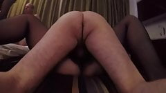 My slut wife being gangbanged part 1