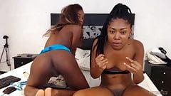 Exotic Black Beauties Rub Clit (Mocca Duo G S)