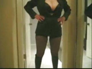 Classic black mature women - Marierocks, 50 milf - wearing classic black