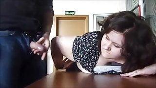 Fatty Russian Secretary