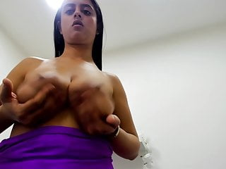 Sexy latina boob Sexy latina shake her big boobs