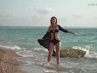 Joseph by the sea naked - Kim nadara sexy gymnastics by the sea