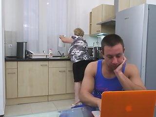 Bbw big granny Taboo sex with big granny and boy