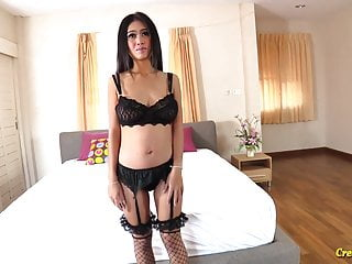 Eating cum filled pussies tube Big tit thai beauty panyaporn filled up with cum