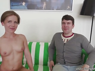 Firt time couples sex - Happy couple first time swingers
