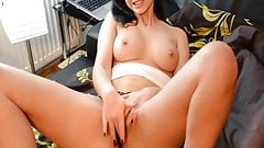 A Handjob And A Blowjob For A Lucky Guy With Big Cock