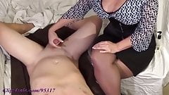 BABYBOY GETS MILKED BY MOMMY