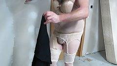 Bodysuit under my black dress