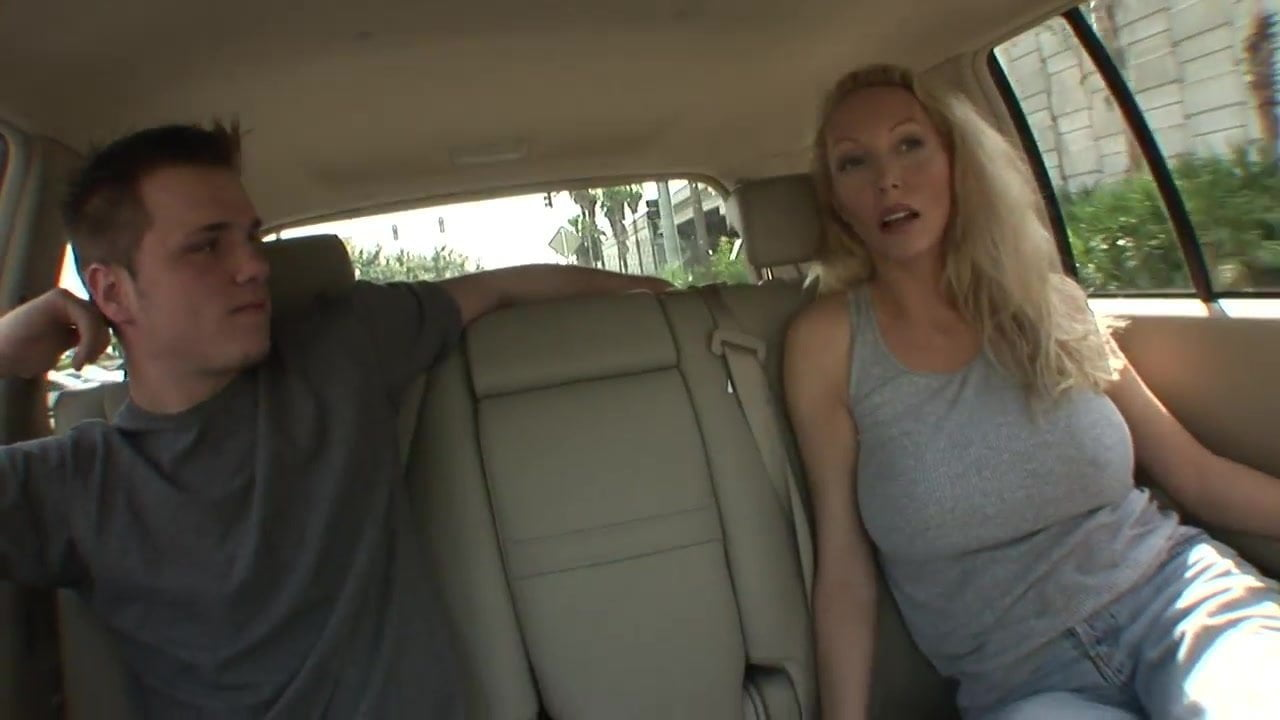 Sexy Blonde Milf Interracial