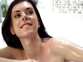 Clear facial skin Pale skin slut audrey grace fucked hard and facialized