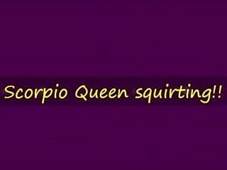 Scorpio sexual horoscope 2010 Scorpio queen squirts