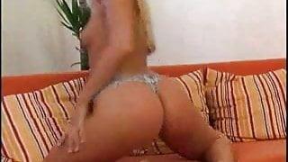 Hot blonde shows off  FM14